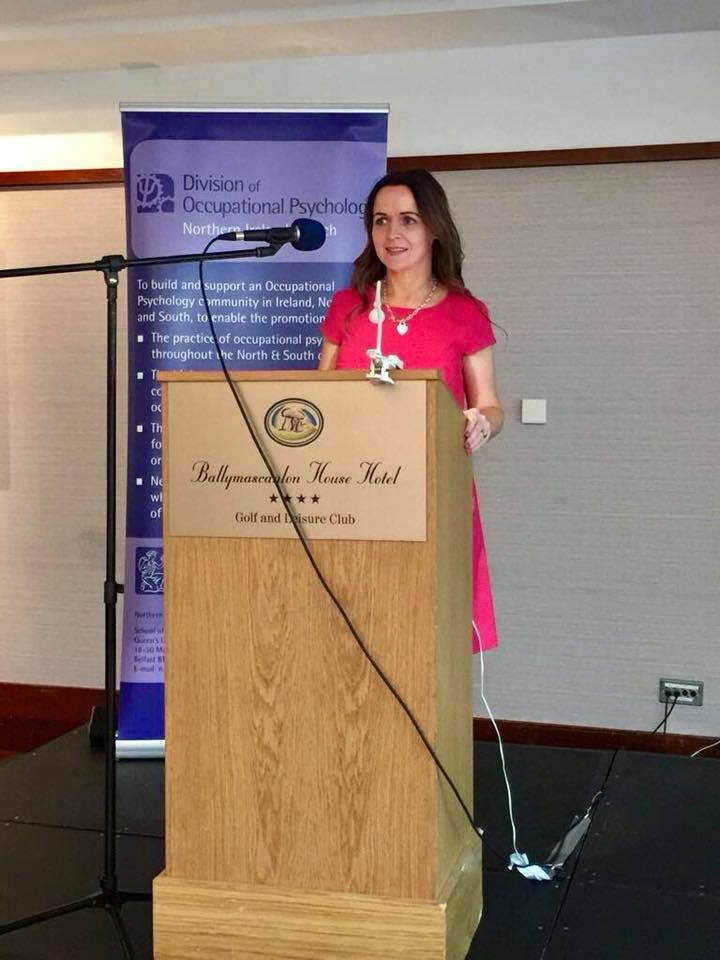 Guest Speaker at the British Psychological Society NI Annual Conference